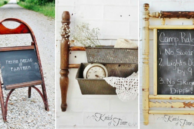 Old Chairs Are No Exception. Even If They Are Broken These Objects Can Be  Transformed Into Very Original And Unique ...