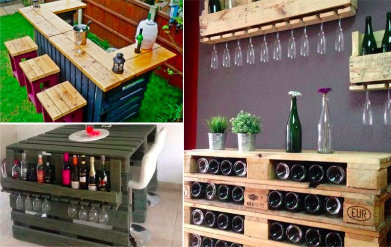 12 Ways To Make A Home Bar Using Palettes - Page 2 Of 2 - Creatistic