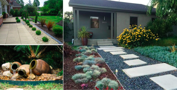 The most adorable front yard gardens and lanscaping ideas - Creatistic
