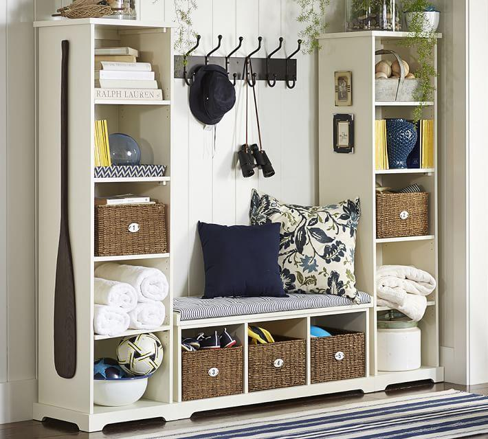 Bench-and-bookcase-set-from-Pottery-Barn