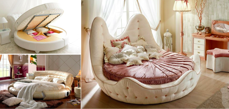 Our Selection Of 35 The Most Beautiful Round Designer Beds