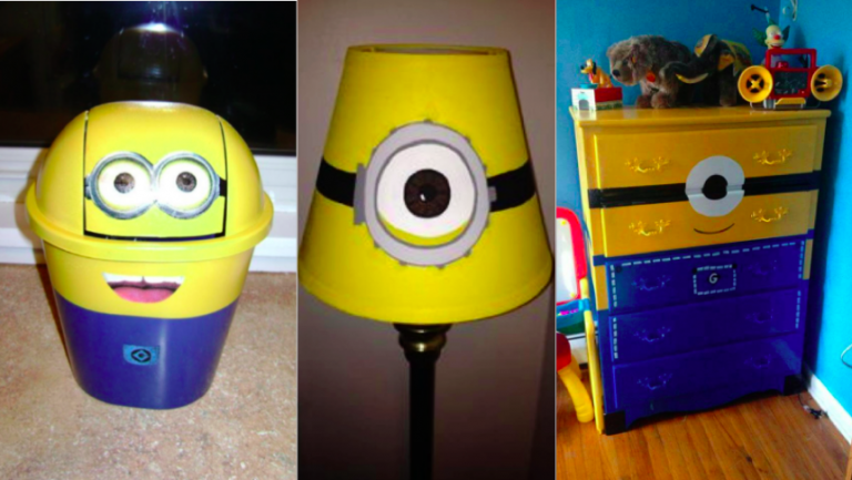9 ideas to decorate your children s room with the theme of minions