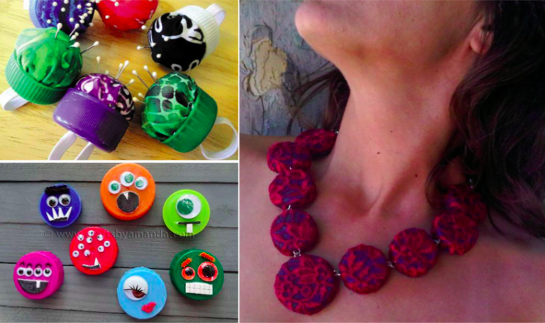20 Incredible Ideas For Recycling Plastic Bottle Caps Creatistic